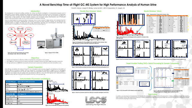 A Novel Benchtop Time-of-Flight GC-MS System for High Performance Analysis of Human Urine