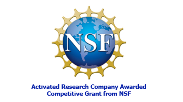 Activated Research Company Awarded Competitive Grant from the National Science Foundation