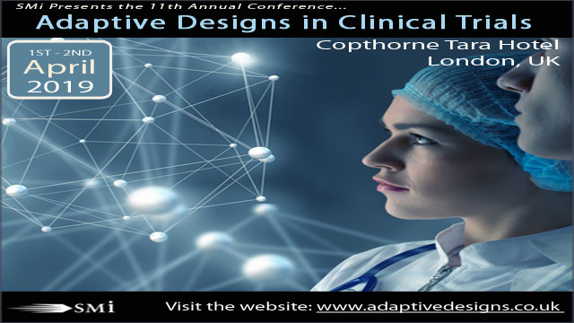 Adaptive Designs in Clinical Trials conference 2019