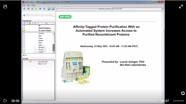 Affinity-Tagged Protein Purification