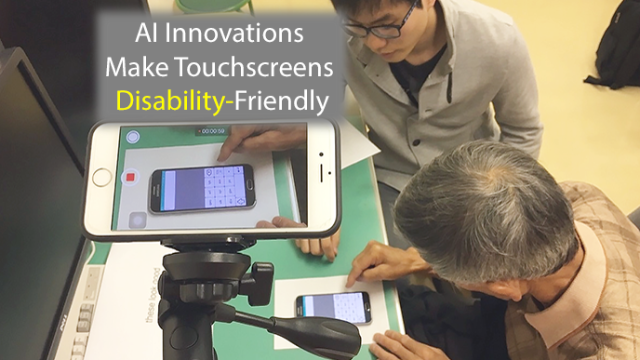 AI Alterations Make Disability-Friendly Touchscreens