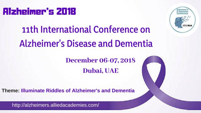 Alzheimer's 2018