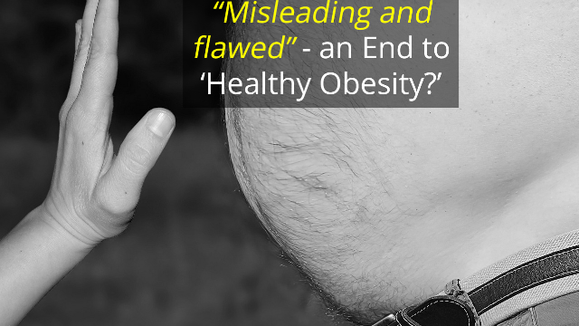 "An End to ""Healthy Obesity""?"