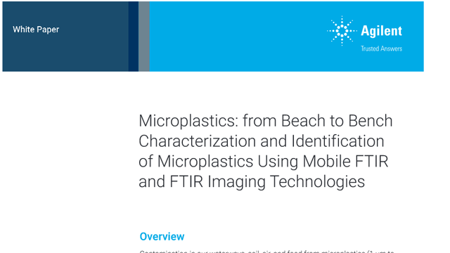 Analysis of Microplastics Using Mobile FTIR and FTIR Imaging