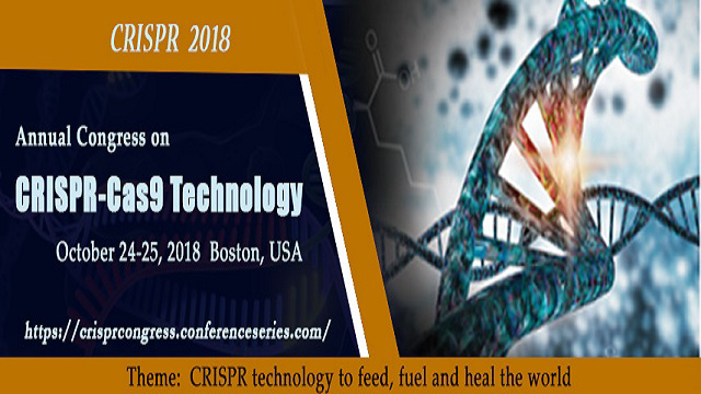 Annual Congress on CRISPR Cas9 Technology (CRISPR-2018)