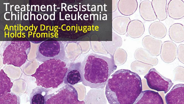 Antibody Drug-Conjugate to Target Treatment-Resistant Childhood Leukemia