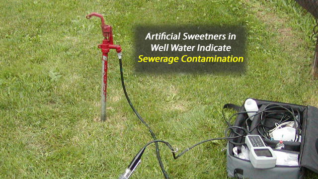 Artificial Sweeteners in Groundwater Indicate Contamination from Septic Wastewater