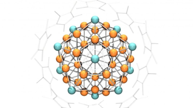 Atom Cluster with Properties of a Single Atom