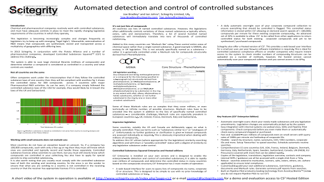 Automated detection and control of controlled substances