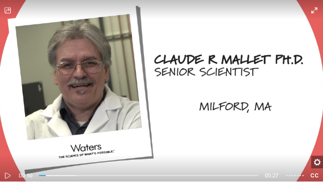 Behind the Science, S3 Ep 1: Exploring new dimensions in chromatography with Claude Mallet