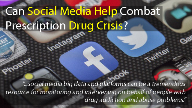 Big Data From Social Media Helps Combat Prescription Drug Crisis