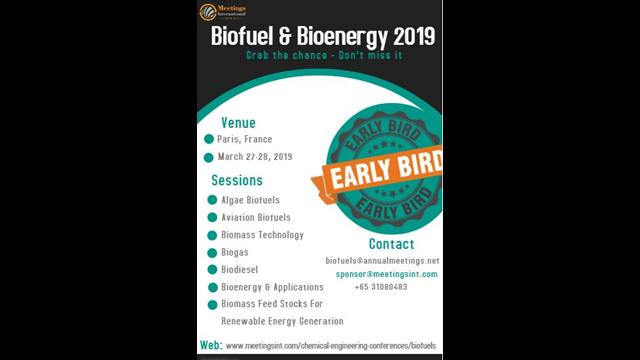 Biofuels 2019