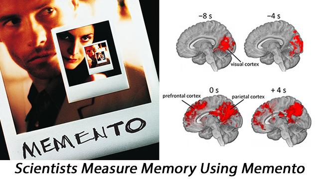 Brain Mechanisms Underlying Cue-based Memory Investigated Using Film Memento