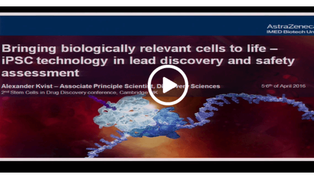 Bringing Biologically Relevant Cells to Life - iPSC Technology in Discovery and Safety Assessment
