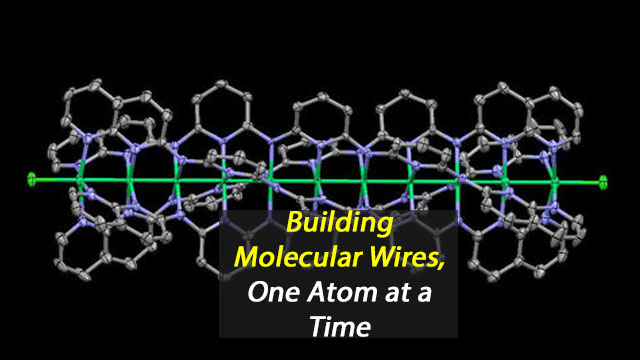 Building Molecular Wires, One Atom at a Time