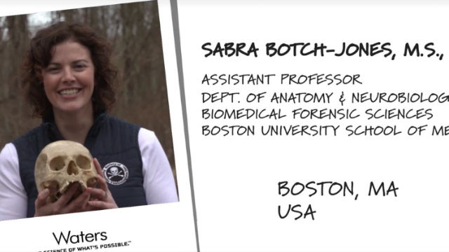 Can bones tell us about drug use? How Boston U.. tests solid samples | Behind the Science S3 Ep4