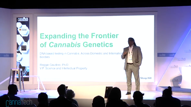 CannaTech 2017 - Expanding the Frontier of Cannabis Genetics - Steep Hill