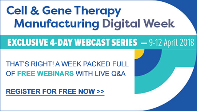 Cell & Gene Therapy Manufacturing Digital Week