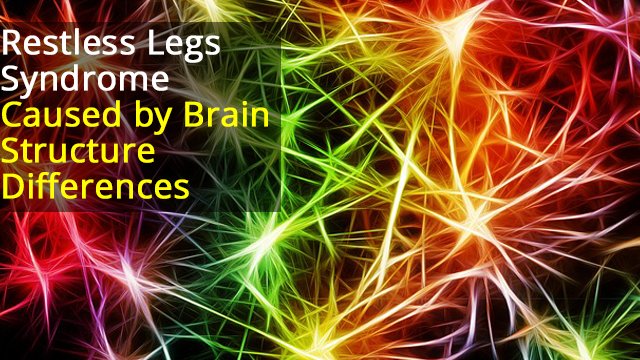 Changes in Somatosensory Cortex Linked to Restless Legs Syndrome