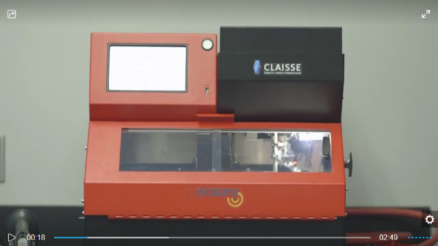 Claisse® LeDoser 12™ Instrument - Just-in-time weighing for optimal precision and repeatability!