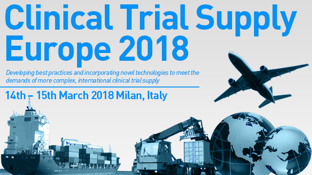 Clinical Trial Supply Europe 2018