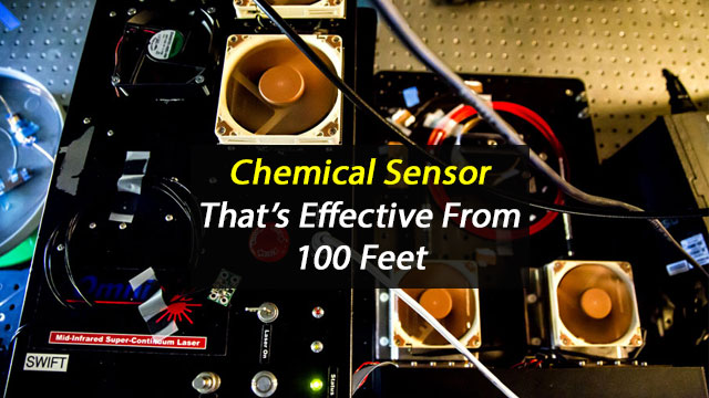 Compact Chemical Sensor Can Detect Substances from Over 100 Feet Away