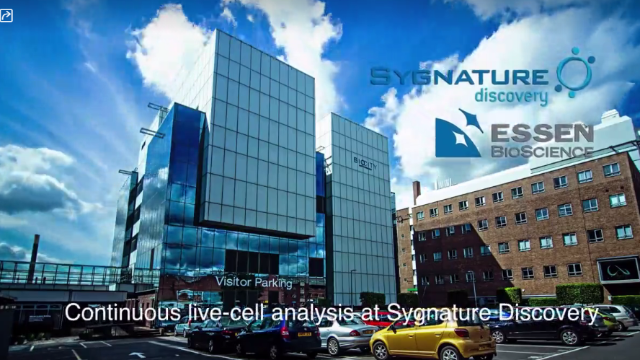 Continuous Live Cell Analysis at Sygnature Discovery