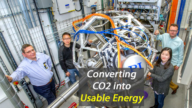 Converting CO2 into Usable Energy