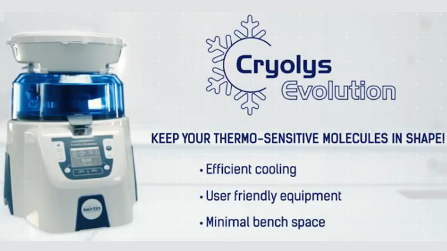 Cryolys Evolution: Keep Your Thermo-sensitive Molecules in Shape