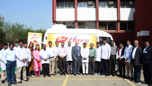 Dabur India LTD Take Honey Testing on the Road