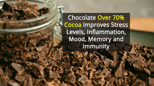 Dark Chocolate Good For Mind and Body