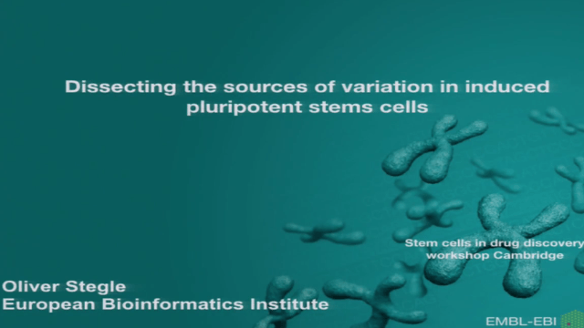 Decomposing the Sources of Molecular Variation in Human Induced Pluripotent Stem Cells