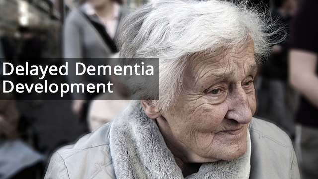 Dementia Trend: We are developing disease later in life