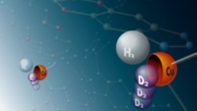Deuterium and Tritium Separated Using a Functionalized Metal-Organic Framework