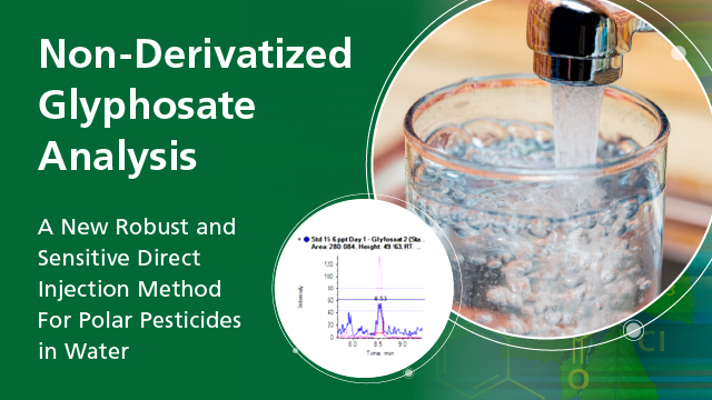 Direct Analysis of Polar Pesticides Without Derivatization