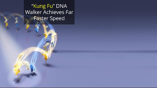 DNA Machine Cartwheels and Carries Cargo
