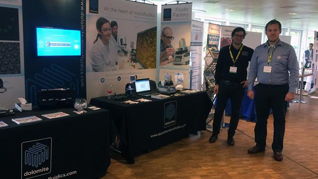 Dolomite Microfluidics gets ready to exhibit at MicroTAS 2017