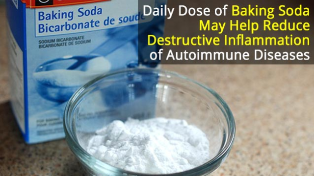 Drinking Baking Soda: A Cheap Way to Combat Autoimmune Disease Inflammation?