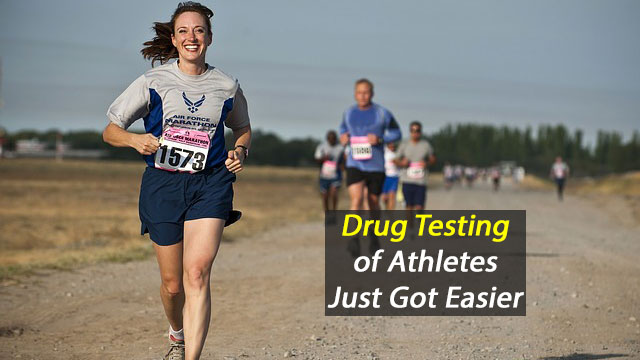 Drug Testing of Athletes Just Got Easier