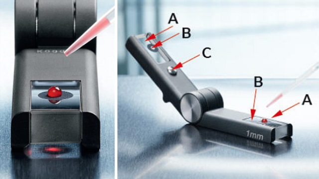 Reliable microvolume measurements with the Eppendorf µCuvette G1.0