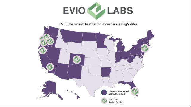 EVIO Labs Florida Licensee Announces ISO 17025 Accreditation