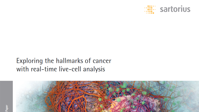 Exploring the Hallmarks of Cancer with Real-time Live-cell Analysis