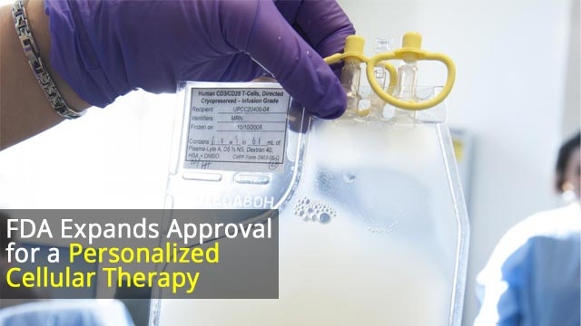 FDA Approves CAR T Therapy for Large B-cell Lymphoma