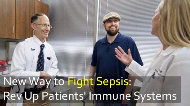 Fighting Sepsis: Drug 'Revs Up' the Immune System