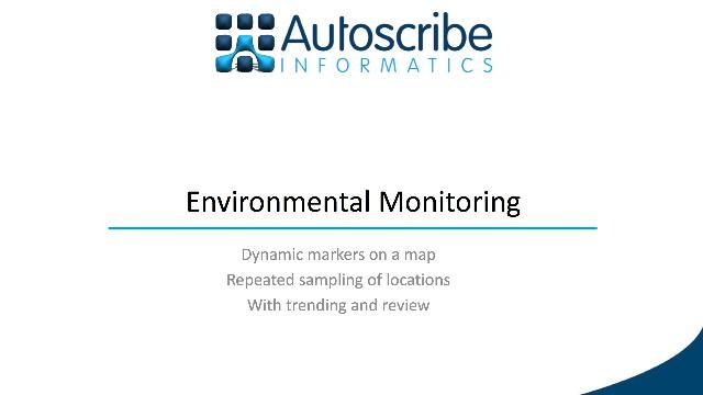 Food Safety/HACCP Using Environmental Monitoring