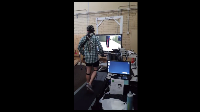 Gait Disabilities Overcome With Brain-Computer Interface and Avatar