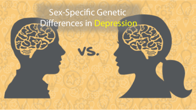 Gene Changes in Depression are Opposite for Men and Women