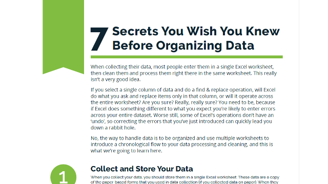 getting your data organized 7 secrets you wished you knew before