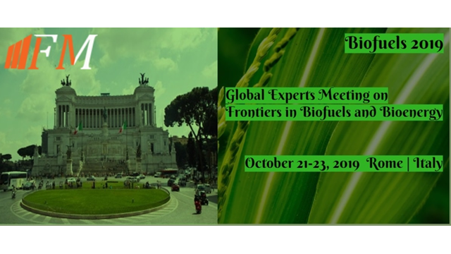Global Experts Meeting on Frontiers in Biofuels and Bioenergy