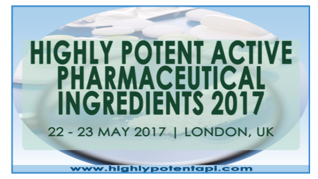Highly Potent Active Pharmaceutical Ingredients 2017